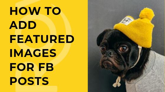 How to add Featured Images for Facebook Posts