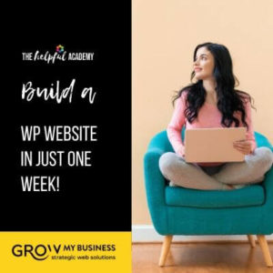 Build A Website in a week!
